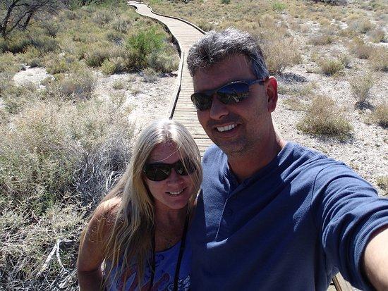 Amargosa Valley, NV: Beatiful boardwalks!
