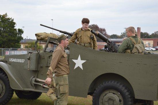 Fort Oglethorpe, GA: WWI Vehicle