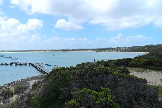 Southend, Australia: View from above the jetty