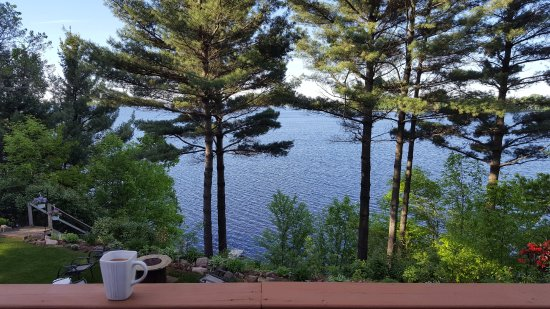 Inn on Lake Wissota: View from the deck