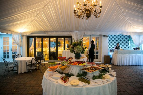 Basking Ridge, NJ: Tented Hunt Room Patio at the Grain House (weddings & events)