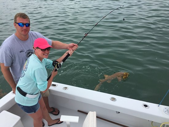 Drop Back Fishing Charters: We all had a blast! We caught 44 dolphin in total and took an evening Tarpon & Nurse Shark trip.