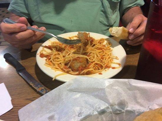 Alvarado, TX: Spaghetti....