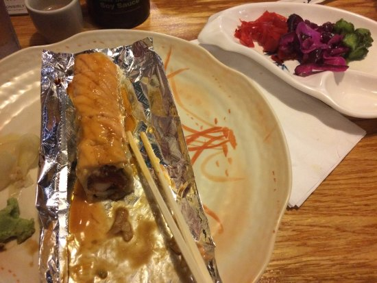 Madison, TN: The Scorpion sushi and the japanese pickles