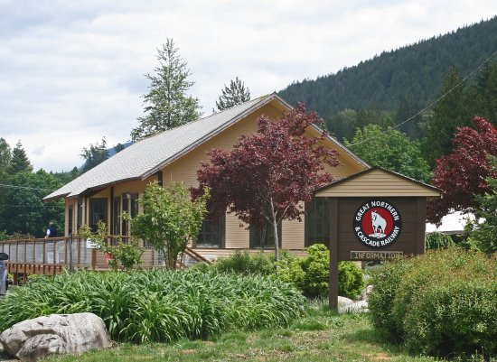 Skykomish, Waszyngton: This historic Great Northern depot is a museum & gift shop.