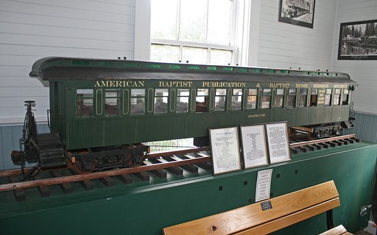 Skykomish, Waszyngton: One of the museum displays inside the depot