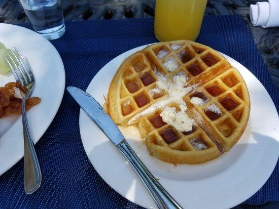 Midlothian, VA: Waffle and mimosa