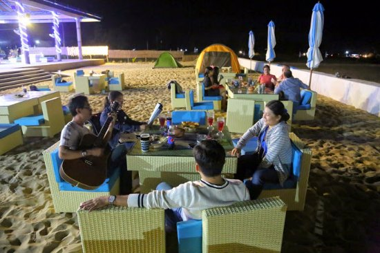 Dining Under The Stars Photo De Ninh Chu Bay Beach Club Bar Phan Ran