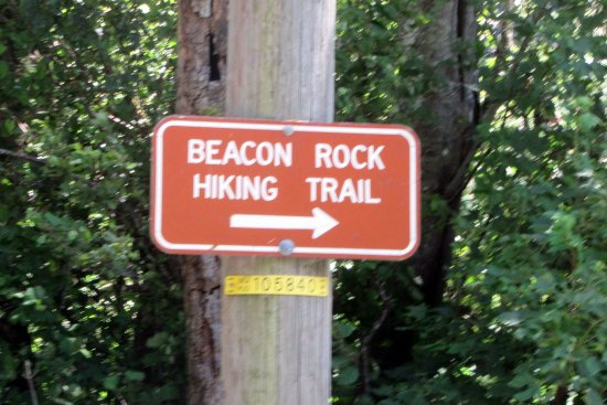 North Bonneville, WA: Beacon Rock Hiking Trail, Columbia River Gorge, Washington Side