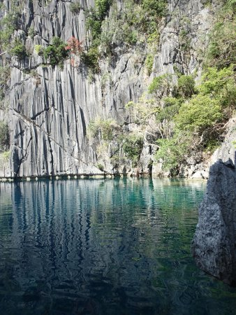 Barracuda Lake: 静けさが美しくて本当に大好き。