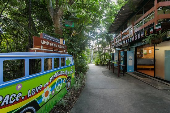 Magnums Backpackers: Out Door Vending Machines & Communal Kitchen