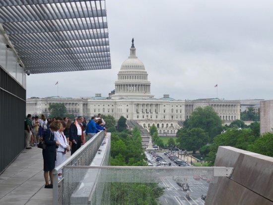 Newseum: Viewing deck
