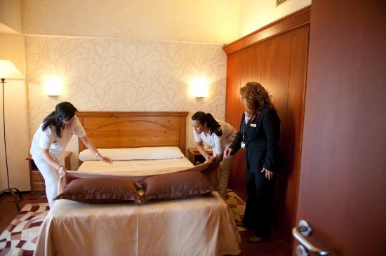 Archidona, Испания: Habitación Prácticas Curso Gobernante/a de Hotel