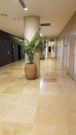 Air Rooms Barcelona Airport by Premium Traveller: ロビーから部屋までの廊下。