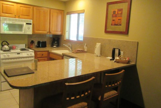 Kitchen Area,  Whispering Woods Resort, Welches, Oregon