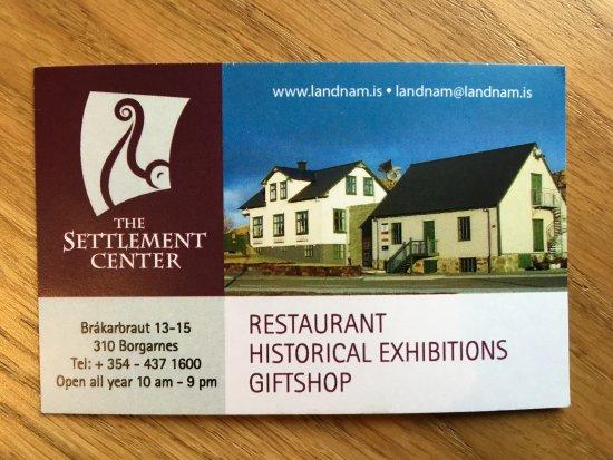 The Settlement Center Restaurant: photo0.jpg