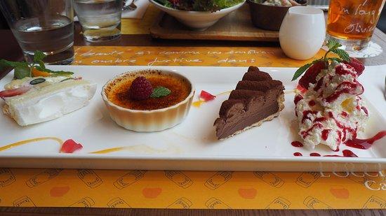 L'OCCITANE CAFE: dessert