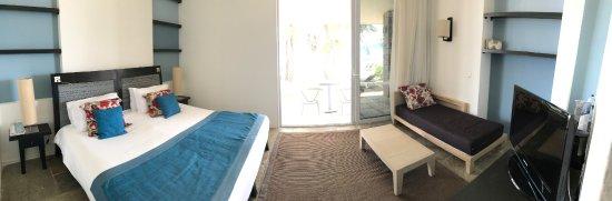 Gregolimano, Greece: chambre d'un bungalow