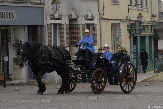"""Saint-Martin-du-Vieux-Belleme, Francie: TOURNAGE ÉMISSION """"LE VILLAGE PRÉFÉRÉ DES FRANÇAIS"""""""