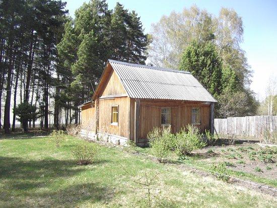 Malyye Bazy, Russland: Обособленный Садовый домик, русская печь.Березовые дрова, тишина и наслаждение природойЁ