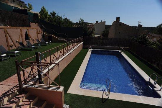 Monasterio, España: Vista de la piscina