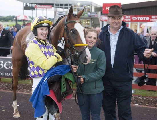 Roscommon Racecourse: Another winner for Nina Carberry