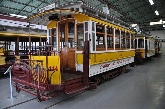 Carris Museum: Экспозиция трамваев