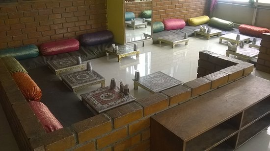 R Royal Rajasthan Rajasthani type dining setup & Rajasthani type dining setup - Picture of R Royal Rajasthan ...