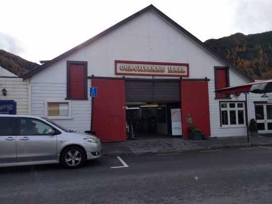 Arrowtown, Nova Zelândia: Coachman Hall