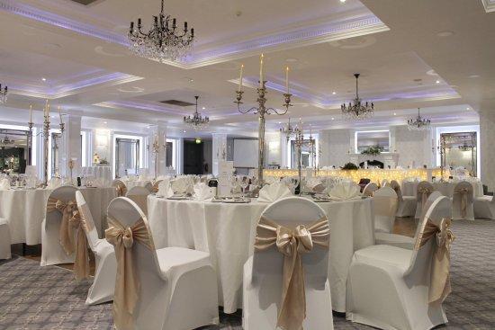 Leighinmohr House Hotel: Our newly refurbished ballroom.