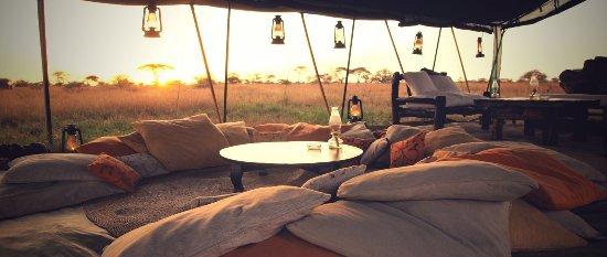 Pumzika Safari Camp: Zona chill out