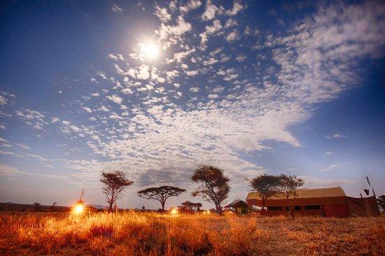 Pumzika Safari Camp: Fuego de campamento
