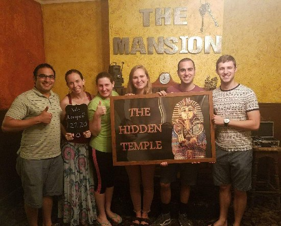 The Mansion Escape Room