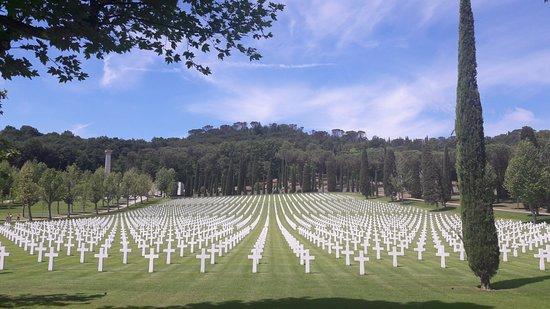 Tavarnuzze, Italy: Cimitero Americano