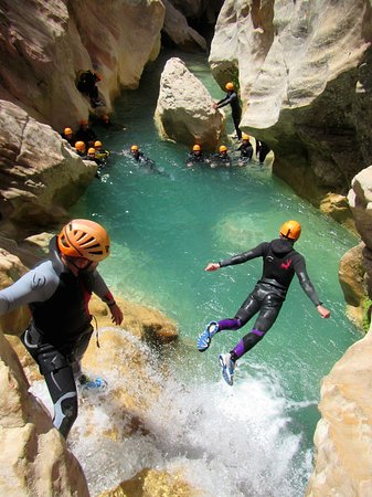 4Lander Canyoning - Acqua Park Pradis