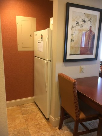 Homewood Suites by Hilton Macon - North: Full size fridge
