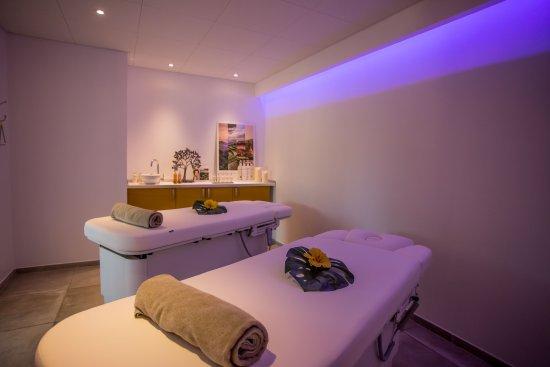 Hotel des Gorges du Verdon: Salle de soin pour des massages en duo