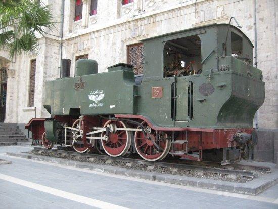 Hejaz Railway: Una vecchia motrice