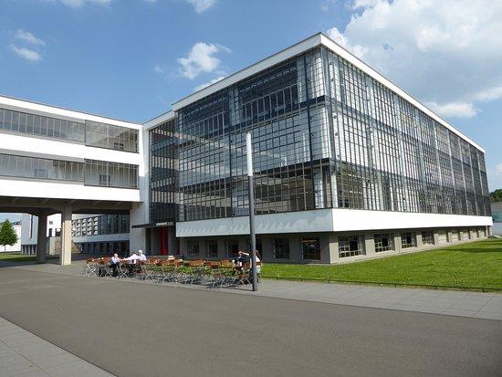 The Bauhaus Foundation Museum And Exhibit Bild Von