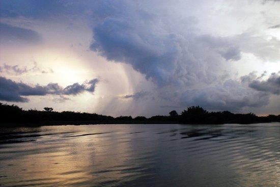 Tabin Wildlife Reserve: puesta de sol