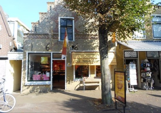 West-Terschelling, Paesi Bassi: Front of the shop