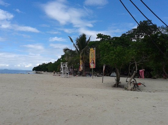 Leyte Island, Philippines: The fine white sands