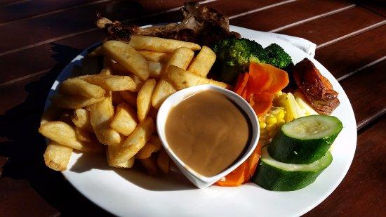 Meringandan Hotel: Pork chops