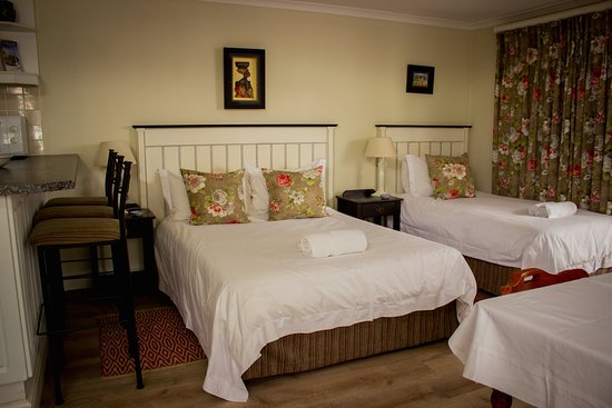 Rondebosch, Sudáfrica: Double and single beds in the Garden Suite