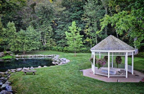 Hot Springs, VA: The gardens