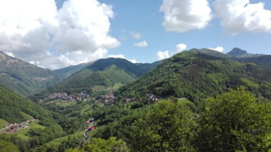 Ticino, Svizzera: verdissima valle