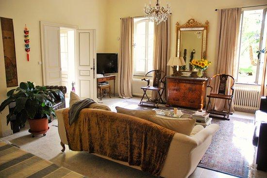 Bram, Francia: Lounge