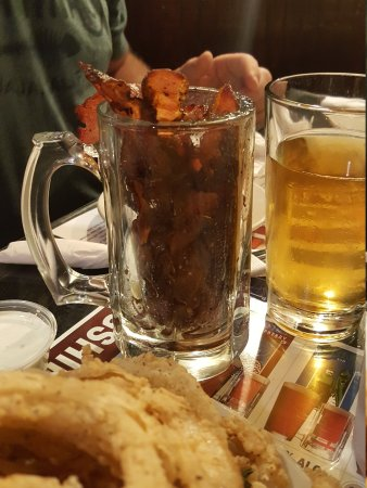 Front Street Brewery: Mug of bacon