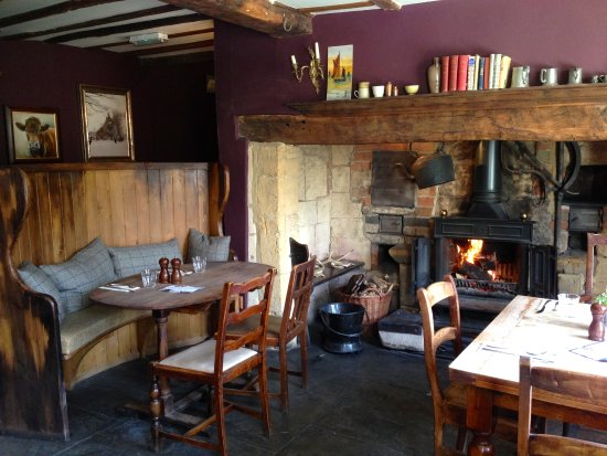 Ebrington, UK: The bakers, one of our dining rooms