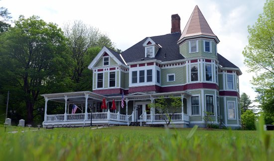 Bethel, VT: 19th century renovated Queen Anne Victorian
